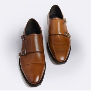 To boot New York Adam Derrick monk strap shoes 13